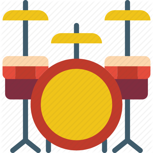 Drum Kit, Drums, Instruments, Music, Percussion, Rock Icon