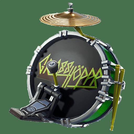 Kick Drum Back Bling Backpacks