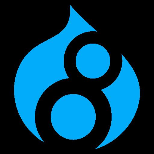 Drupal, Logo, Social, Social Media Icon