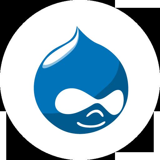 Drupal Icon Basic Round Social Iconset S Icons