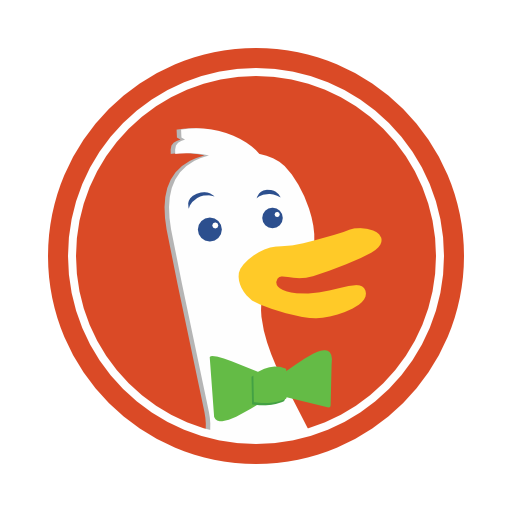 Duckduckgo Icon Free Of Social Media Logos I Flat Colorful