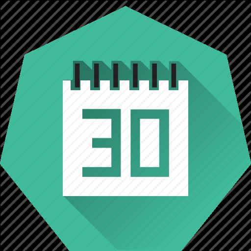 Calendar, Due Date, Heptagonal, Monthly, Schedule, Target Icon
