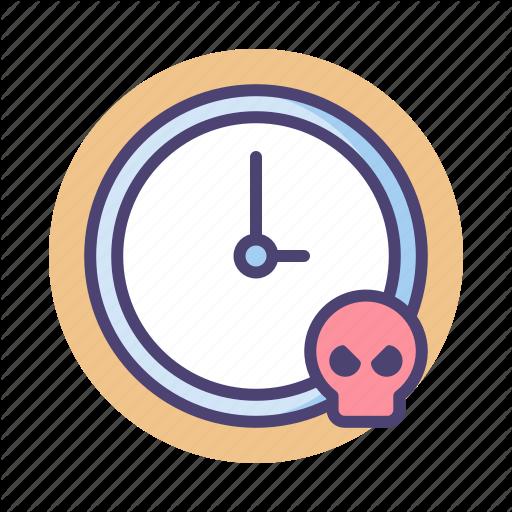 Deadline, Due Date, Expiry Date Icon