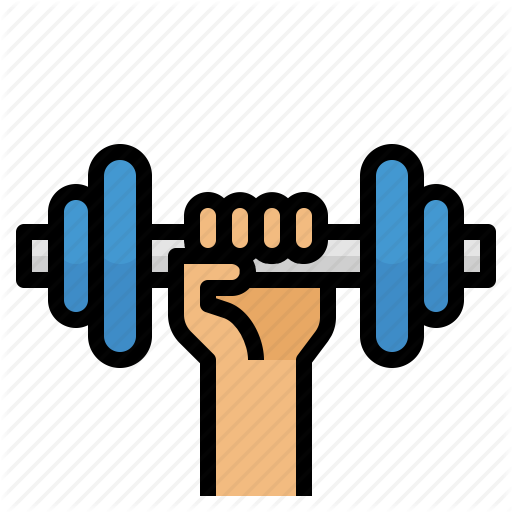 Dumbbell, Exercise, Gym, Healthy Icon