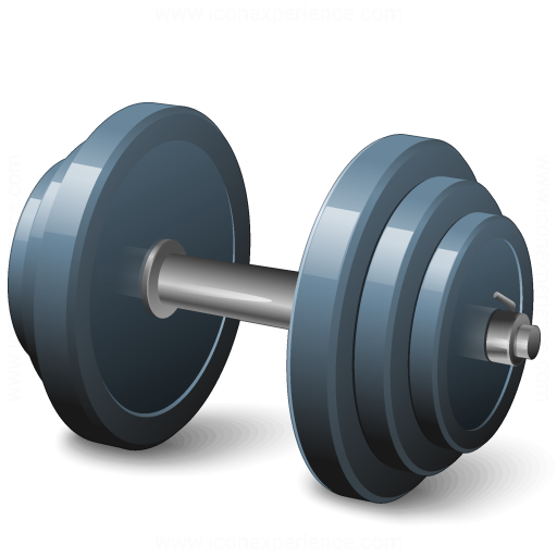 Iconexperience V Collection Dumbbell Icon