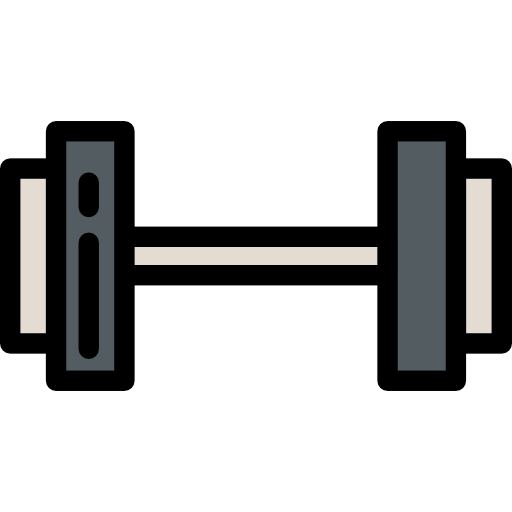 Sportive, Dumbbell, Sports And Competition Icon