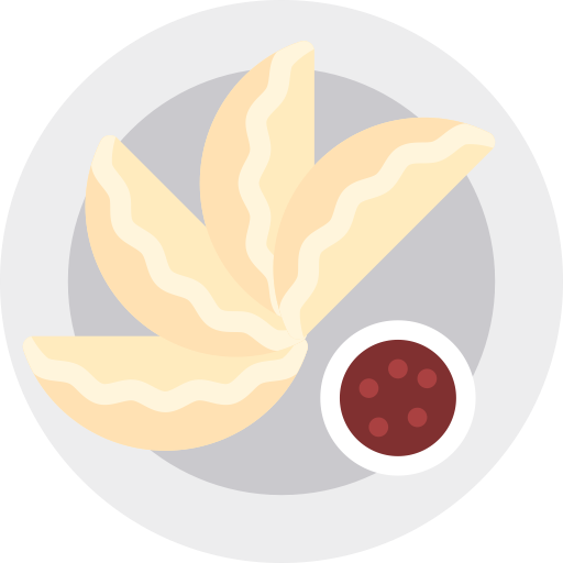 Dumpling, Food, Fried Icon With Png And Vector Format For Free