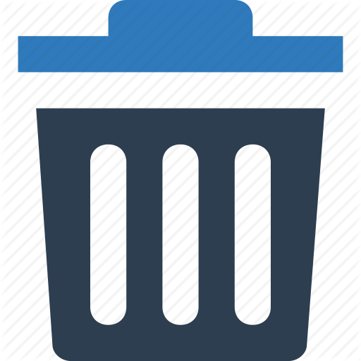 Dumpster, Dustbin, Recycling, Trash Can Icon