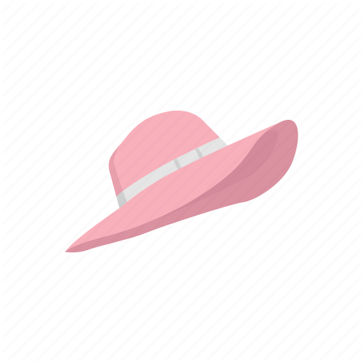 Beach Hat, Cap, Clothing, Fashion, Hat, Summer Hat Icon