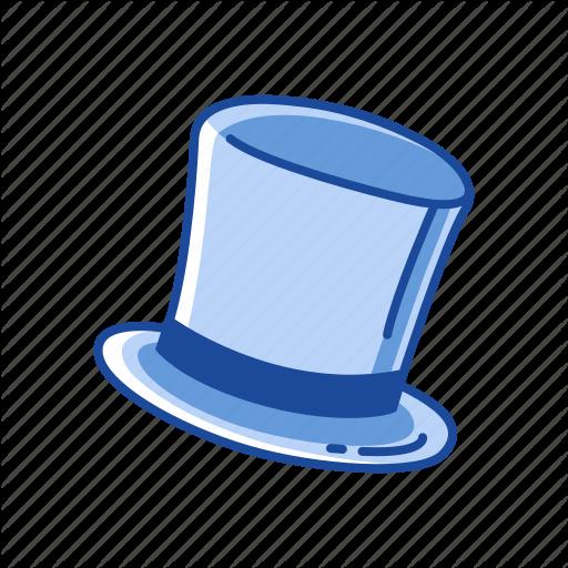 Beaver Hat, Cap, Chimney Hat, Cylinder Hat, Hat, Magician Hat, Top