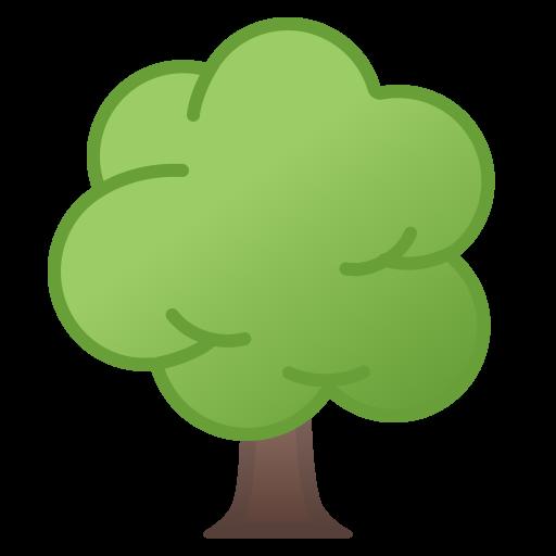 Deciduous Tree Icon Noto Emoji Animals Nature Iconset Google