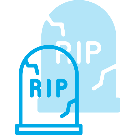 Holyday, Halloween, Cemetery, Grave, Stone, Yard, Rip Icon Free