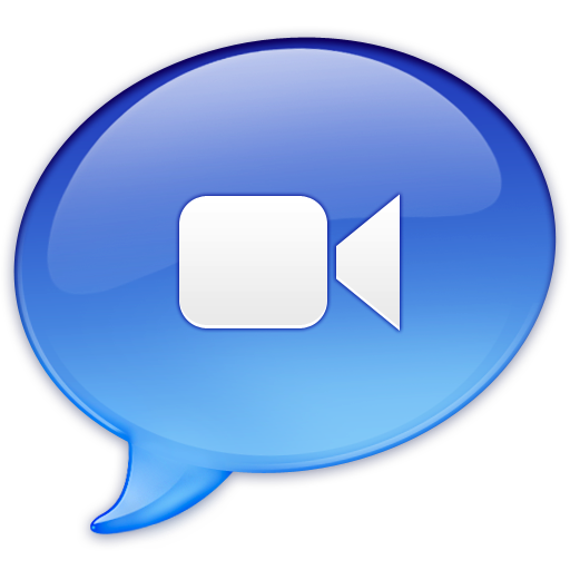 Ichat Video Icon Balloons Iconset Graphicpeel