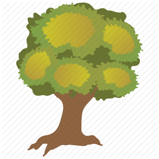 Durable Tree, Furniture Wood, Oak, Sawtooth Oak, Shrub Icon