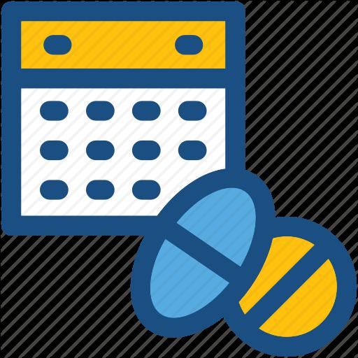 Calendar, Medicine Schedule, Medicine Time, Schedule, Treatment