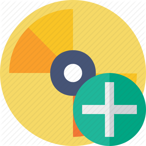 Add, Cd, Disc, Disk, Dvd Icon