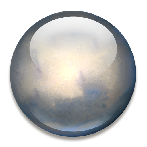 Ceres The Dwarf Planet Icon, Png Clipart Image