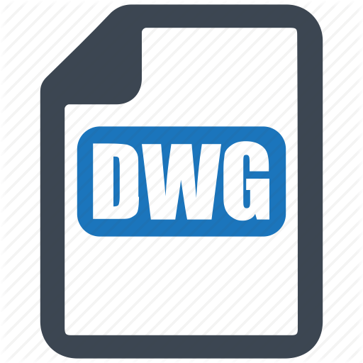Dwg, File, Format Icon