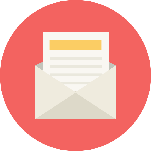 Newsletter, Mail, Post Icon Free Of Flat Retro Communications Icons