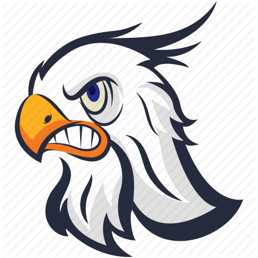 Angry Eagle, Bird, Eagle, Golden Eagle, Raptor Bird Icon