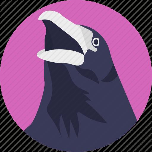 Animal, Bird, Cartoon Eagle, Eagle, Large Bird Icon