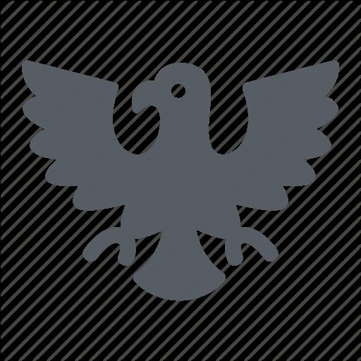 Badge, Eagle, Emblem, Germany, Nature, Usa Icon