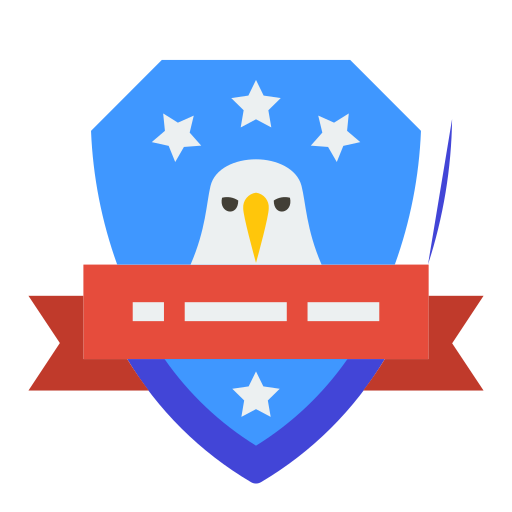 Eagle, Badge Icon Free Of Of July Icons