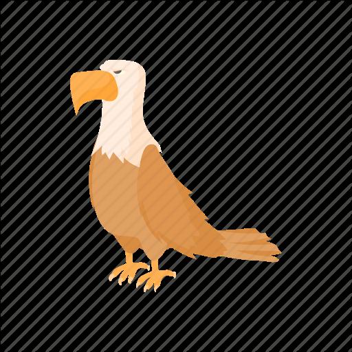 Bald, Bird, Cartoon, Eagle, Independence, July, Usa Icon