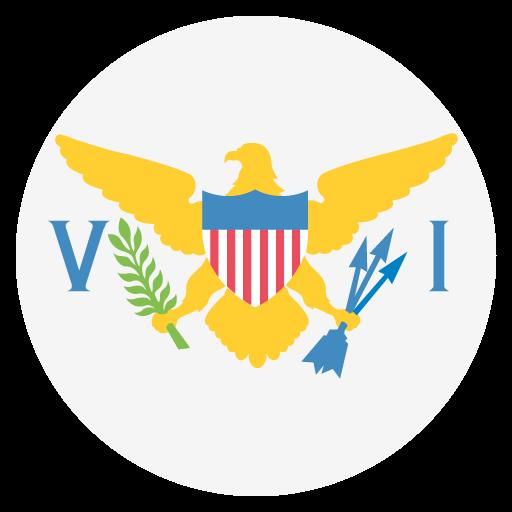 U S Virgin Islands Flag Vector Emoji Icon Free Download Vector