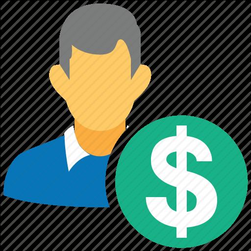 Dollar, Earn, Loan, Pay, Personal, Salary, User Icon