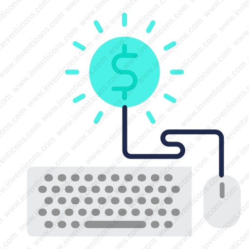 Download Earn,money,online Icon Inventicons