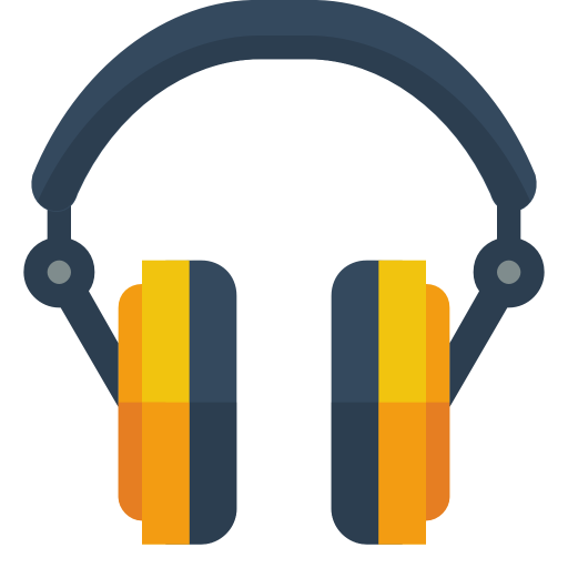 Headphone Icon Small Flat Iconset Paomedia