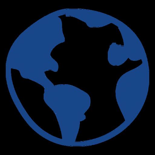 Earth Scribble Icon