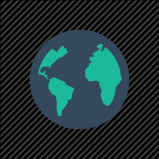 Earth, Globe, International, Shipping, World Icon