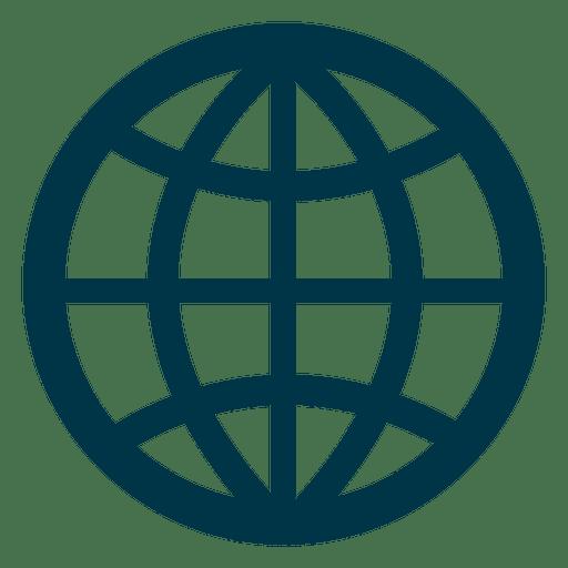 Grid Earth Icon