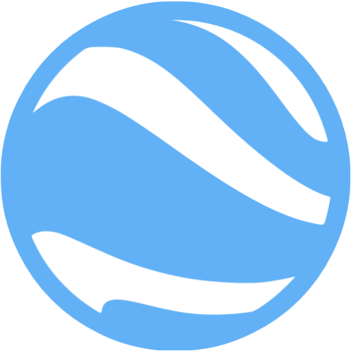 Tropical Blue Google Earth Icon