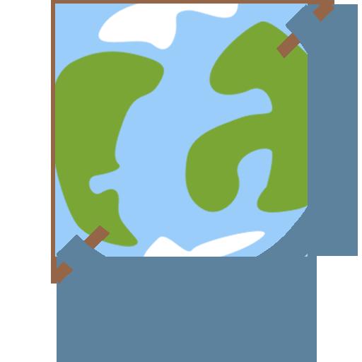Mixed Globe Icon