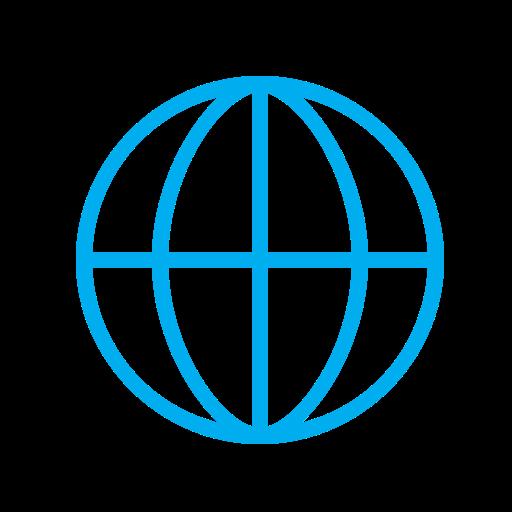 Earth, Globe, Internet, Map, Network, Planet, World Icon