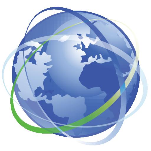 Earth, Internet, Network Icon