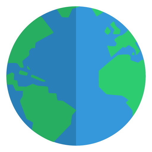 Globe Icon Small Flat Iconset Paomedia