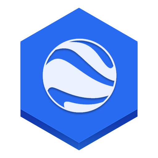 Google Earth Icon Hex Iconset