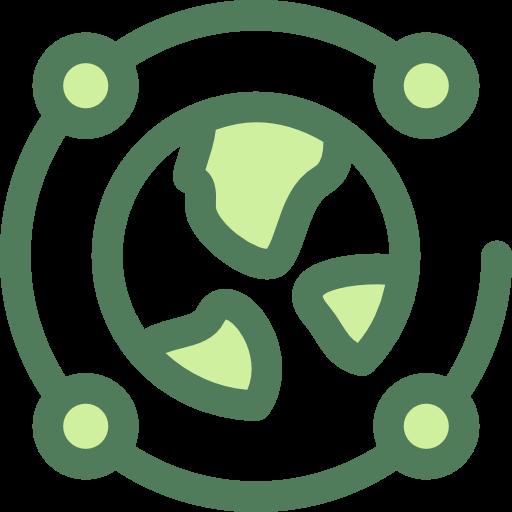 Networking, Worldwide, Planet Earth Icon