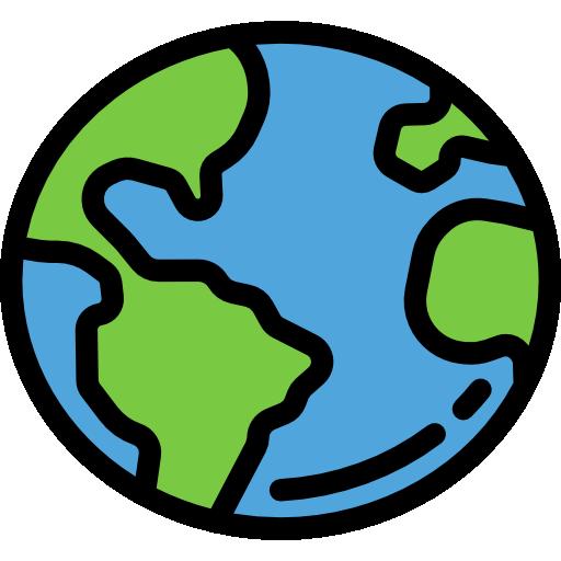 Signs Earth Globe Icon