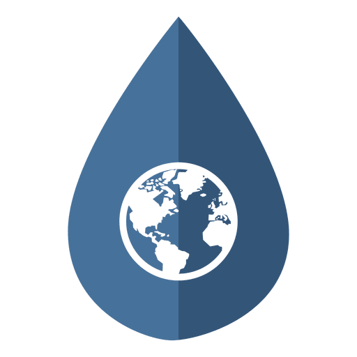 Water Day Globe Icon