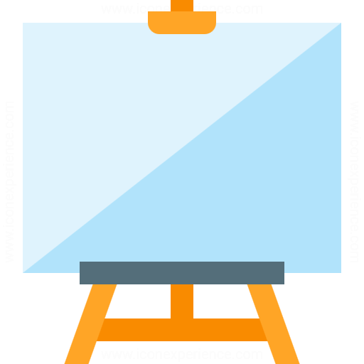 Iconexperience G Collection Easel Icon