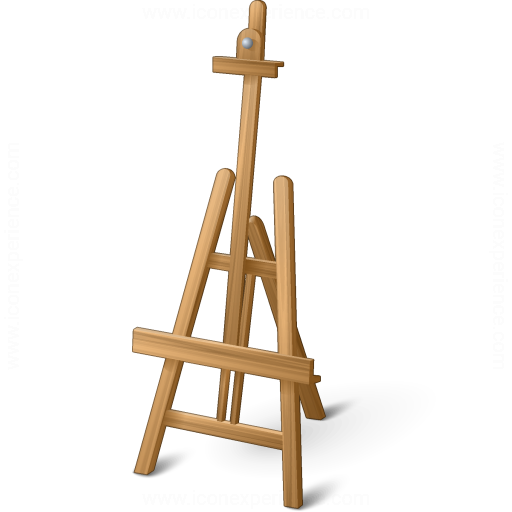 Iconexperience V Collection Easel Empty Icon