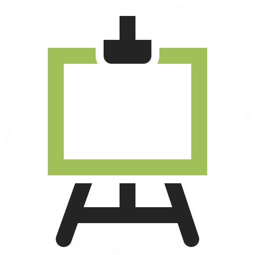 List Of Synonyms And Antonyms Of The Word Easel Icon