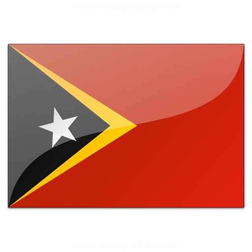 Iconexperience V Collection Flag East Timor Icon