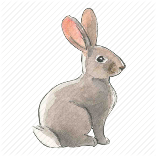 Bunny, Easter, Rabbit, Spring Icon