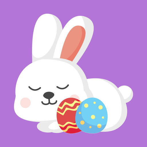 Easter Bunny Sticker Pack
